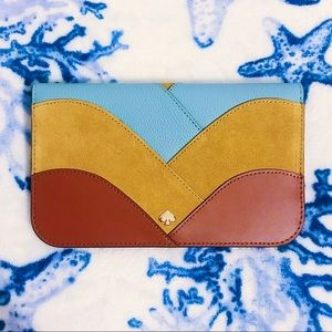 NWT ♠️ Kate Spade Nadine Patchwork Wallet
